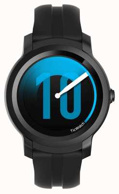 TicWatch E2 | reloj inteligente sombra | correa de silicona negra 131586-WG12026-BLK