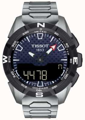 Tissot El | hombre t-touch expert solar ii | pulsera de titanio | T1104204405100