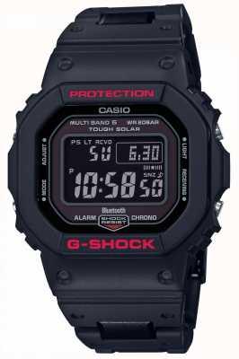 Casio Correa de resina negra para hombre g-shock heritage digital GW-B5600HR-1ER