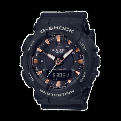 Casio Correa de resina negra G-shock step tracker GMA-S130PA-1AER