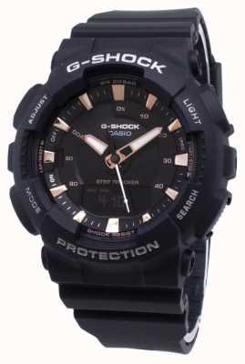 Casio G-shock step tracker correa de resina negra GMA-S130PA-1AER