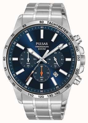 Pulsar El | reloj deportivo de acero inoxidable para hombre | PT3995X1