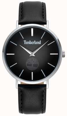 Timberland | mens rangeley | correa de cuero negro | esfera negra | 15514JS/02
