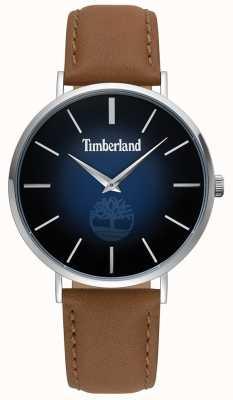 Timberland | mens rangeley | cuero marrón | esfera azul | 15514JS/03