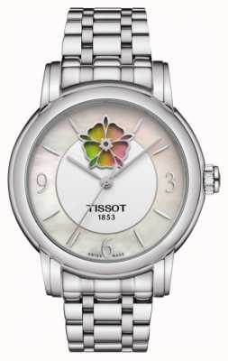 Tissot Pulsera mujer heart flower powermatic 80 de acero inoxidable T0502071111705