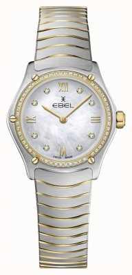 EBEL Deportivo para mujer clásico 53 diamantes oro amarillo 18k. 1216412A