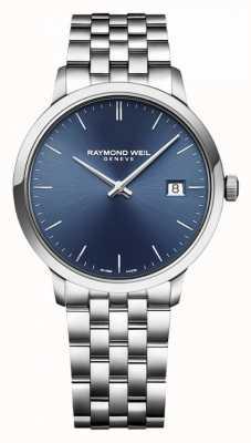 Raymond Weil El | toccata para hombre | acero inoxidable clásico | esfera azul | 5485-ST-50001