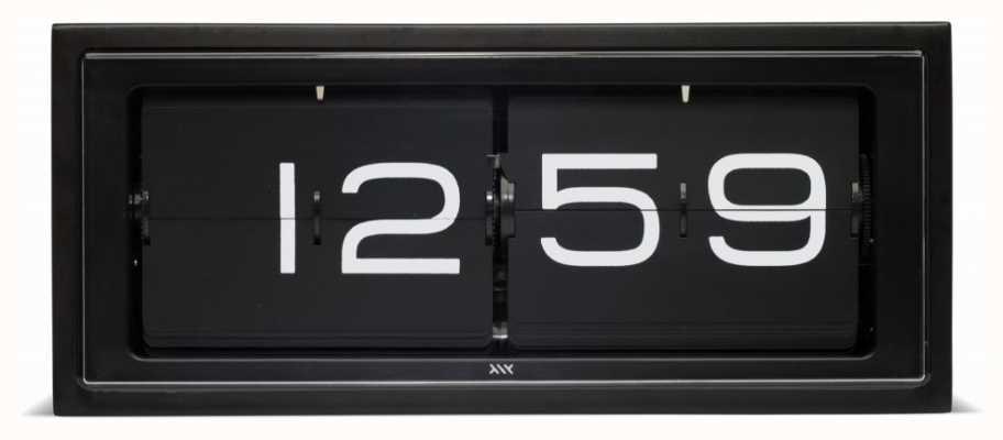 Leff Amsterdam | reloj de ladrillo negro | LT15401