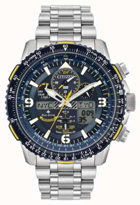 Citizen Blue angels skyhawk de hombre en acero inoxidable eco-drive JY8078-52L