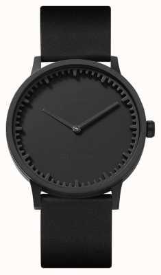Leff Amsterdam El | reloj tubo | t40 | negro | correa de cuero negro | LT75212