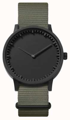 Leff Amsterdam El | reloj tubo | t40 | negro | correa nato gris | LT75252
