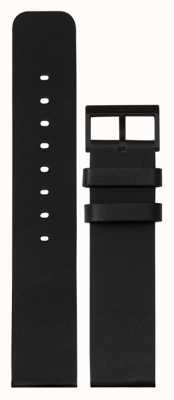 Leff Amsterdam | correa de cuero negro | hebilla negra | LT75012-STRAP