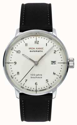 Iron Annie Bauhaus | automático | correa de cuero negro | 5056-1