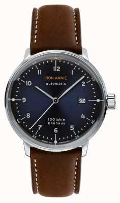 Iron Annie Bauhaus | automático | correa de cuero marrón | 5056-3