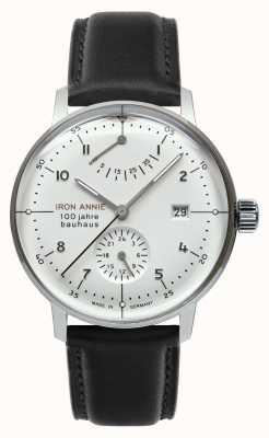 Iron Annie Bauhaus | reserva de marcha | esfera blanca 5066-1
