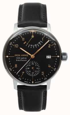 Iron Annie Bauhaus | automático | reserva de energía | negro | 5066-2