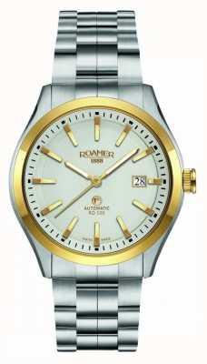 Roamer El | rd100 automático | pulsera de acero inoxidable | esfera blanca | 951660-47-15-90