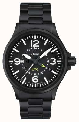 Sinn 856 s utc el reloj piloto con protección de campo magnético y 856.020