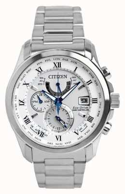 Citizen El | hombre eco-drive radio controlado en | acero inoxidable AT9081-89A