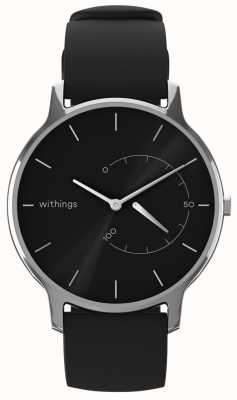Withings Mueve el atemporal chic - negro, negro silicona HWA06M-TIMELESS CHIC-MODEL 1-RET-INT
