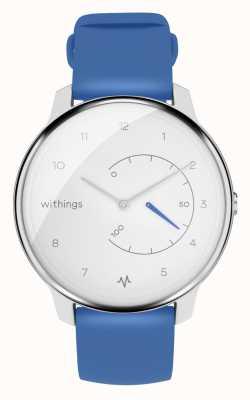 Withings Mover ecg | blanco y azul | rastreador de actividad HWA08-MODEL 2-ALL-INT