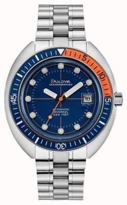 Bulova El | edición limitada | oceanógrafo diablo buzo | automático | 96B321