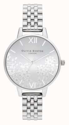 Olivia Burton El | mujeres | encaje biselado | pulsera de acero inoxidable | OB16MV101