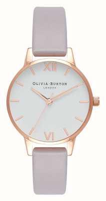 Olivia Burton | mujer | correa lila gris | esfera blanca | OB16MDW32