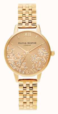 Olivia Burton | mujer | encaje enjoyado | pulsera dorada | OB16MV105