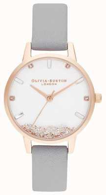 Olivia Burton | mujer | el reloj deseando | correa gris | OB16SG08