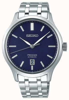 Seiko | presagio | automático | jardín zen | esfera azul | SRPD41J1