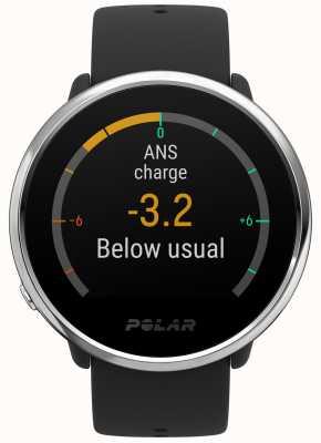 Polar | encender actividad y rastreador de horas | caucho negro | s | 90071065