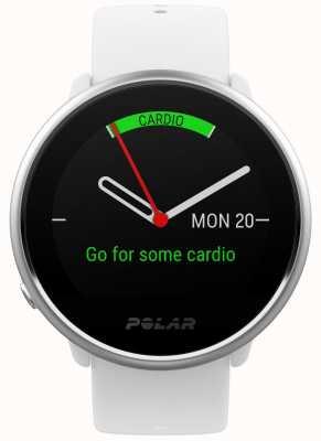Polar Encender | rastreador de actividad | frecuencia cardiaca | silicona blanca | s 90072456