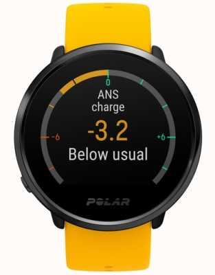 Polar | encender actividad y rastreador de horas | silicona amarilla | m / l 90075950