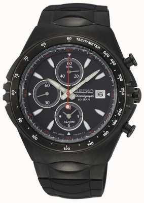 Seiko | serie conceptual | cronógrafo ip negro | reloj deportivo | SNAF87P1