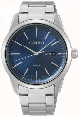 Seiko | serie conceptual | solar clásico | mens | esfera azul | SNE525P1