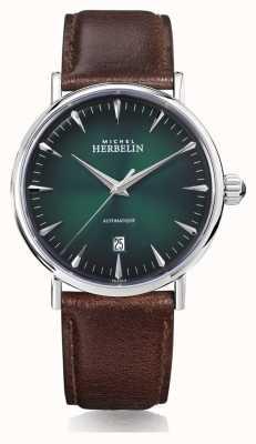 Michel Herbelin | mens | inspiración | automático | esfera verde | 1647/AP16BR