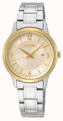 Seiko | serie conceptual | reloj de acero inoxidable para mujer SXDH04P1