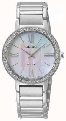 Seiko | serie conceptual | solar para mujer | conjunto de cristal | SUP431P1