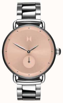 MVMT Bloom rubor dhalia | acero inoxidable | esfera rosa D-FR01-S