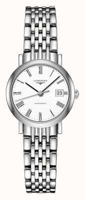 Longines El | colección elegante | 25.5mm de mujer | suizo automático | L43094116