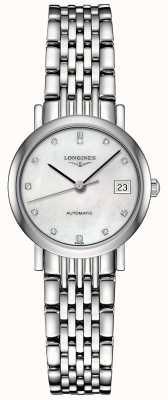 Longines El | colección elegante | 25.5mm de mujer | automático suizo | L43094876