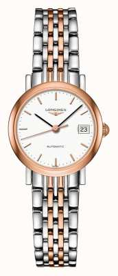 Longines El | colección elegante | 25.5mm de mujer | suizo automático | L43095127