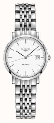 Longines El | colección elegante | mujeres 29mm | automático suizo | L43104126