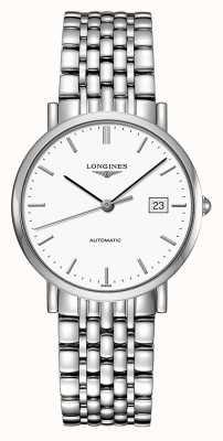 Longines El | colección elegante | hombres 37mm | suizo automático | L48104126