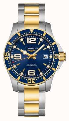 Longines El | deporte de hidroconquista | hombres 41mm | automático suizo | L37423967
