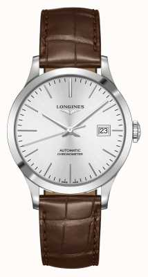 Longines El | registro | hombres | suizo automático | L28204722