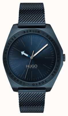 HUGO #act | malla ip azul | esfera azul 1530109