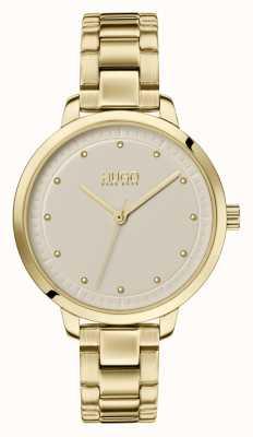 HUGO #achieve | pulsera ip de oro | esfera de champán 1540039