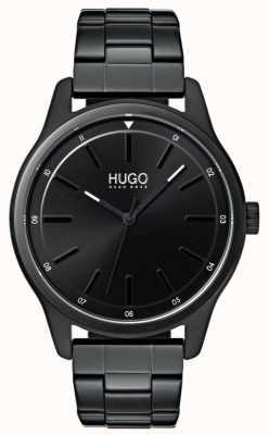 HUGO #dare | pulsera ip negra | esfera negra 1530040